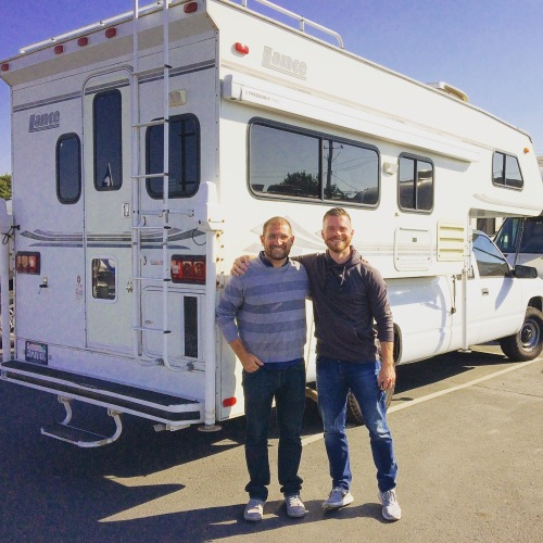 Two Guys and a Camper